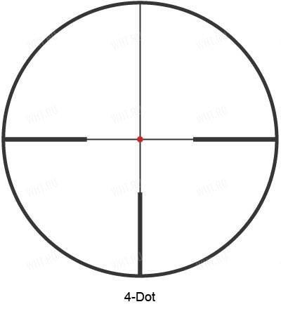 (10220) Прицел Kahles CSX 2.5-10x50 L с прицельной маркой 4-Dot